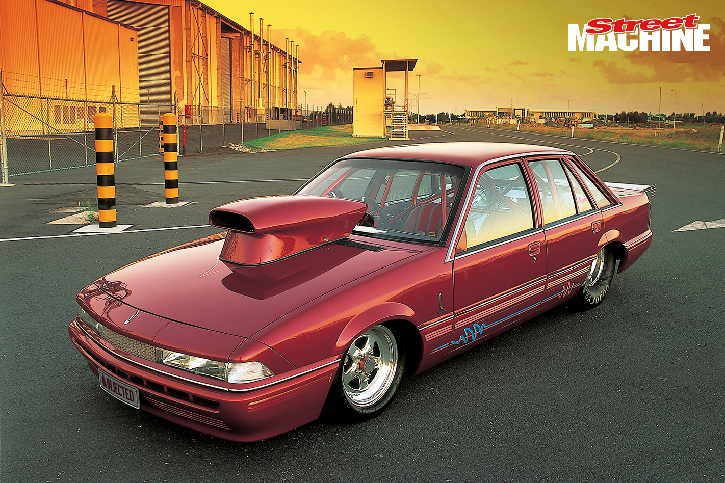 Pro Street VL Commodore Drag Car Nw