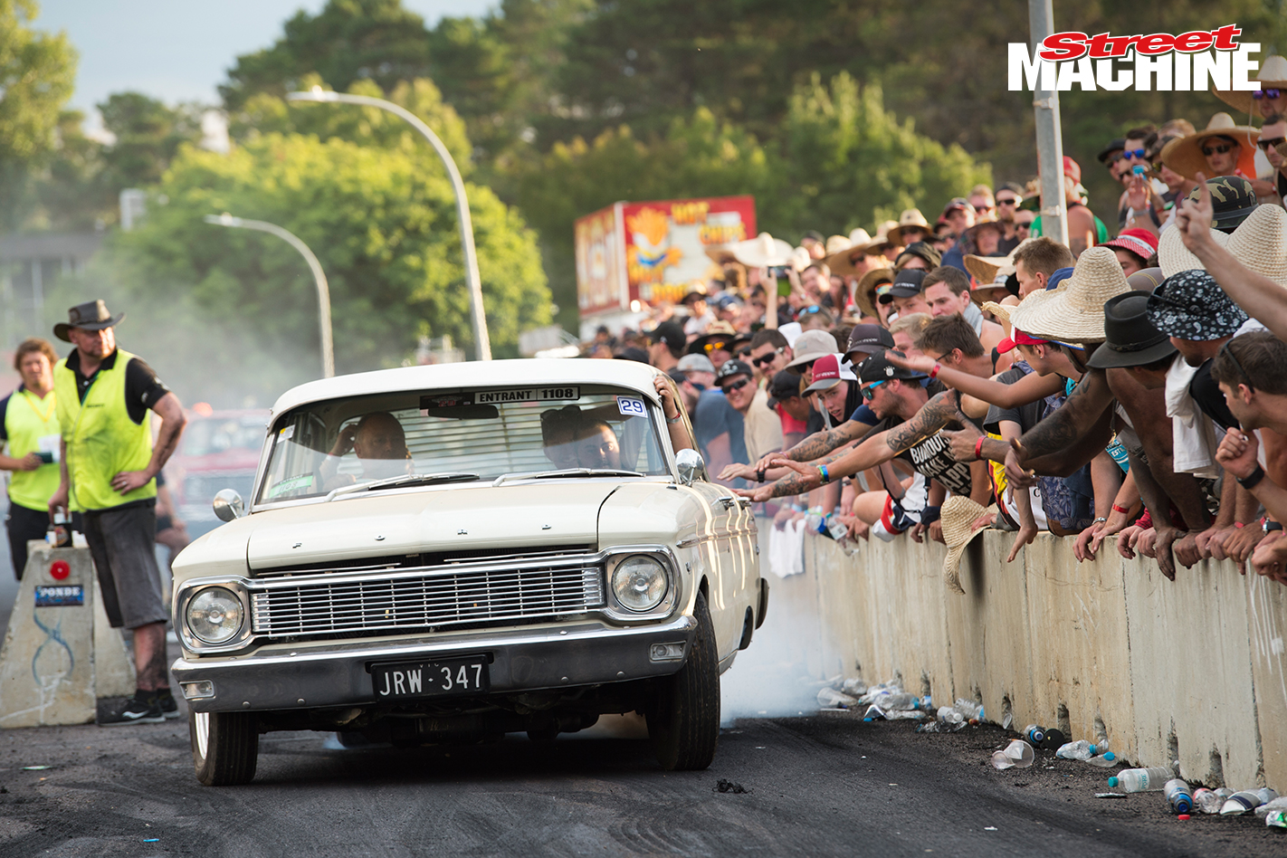 Ford Falcon Burnout Summernats Nw