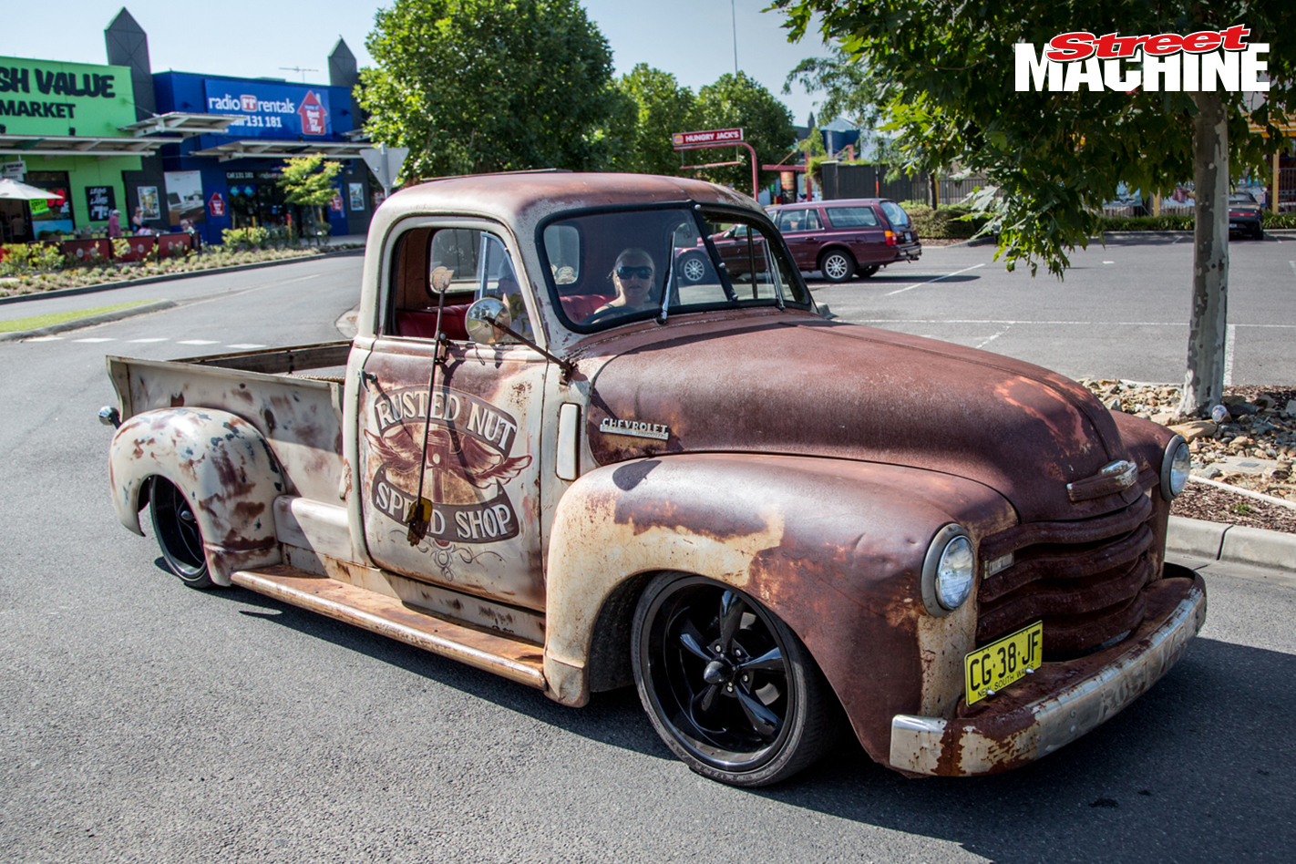 Slammed Chevrolet Pick Up Nw