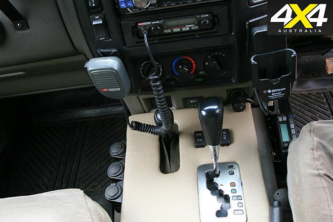 Nissan GU Patrol with Toyota gearbox