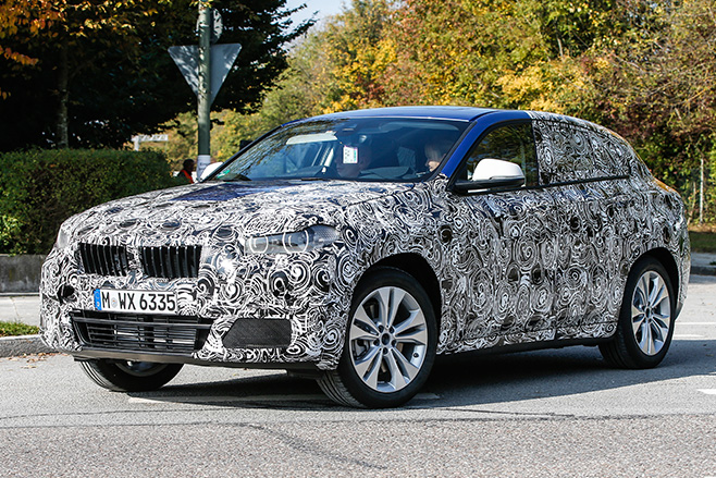 BMW-X2-spy -pic