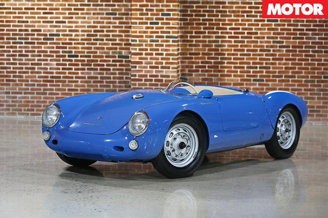 1955-Porsche 550 Spyder
