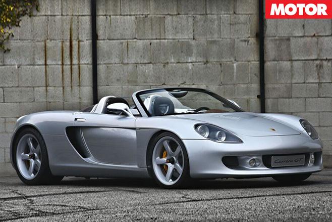 2000 Porsche Carrera -GT Prototype