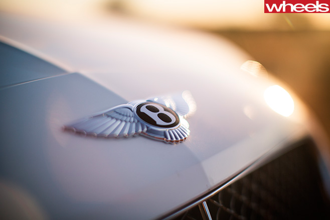 Bentley -Continental -logo -bonnet