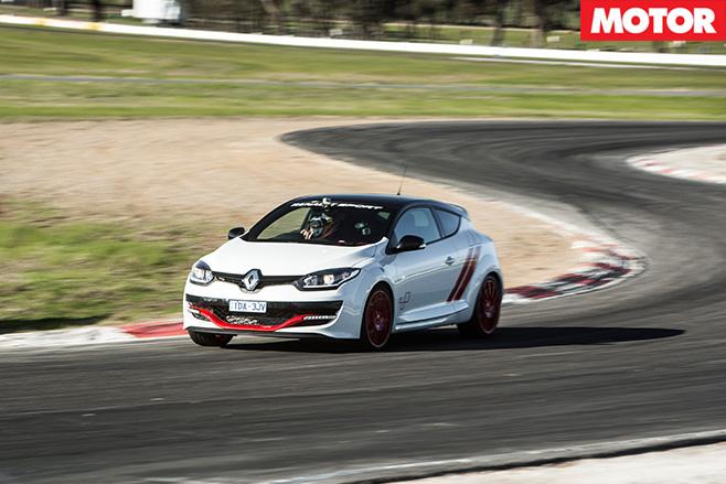 Renault Sport Trophy driving