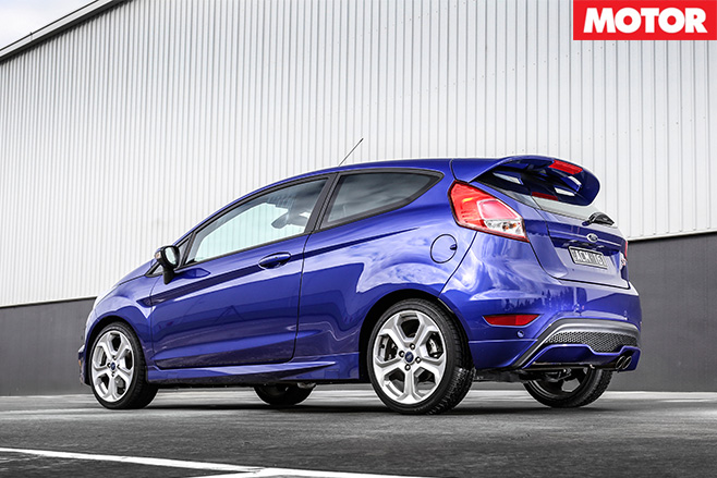 BFYB overall winner ford fiesta ST rear