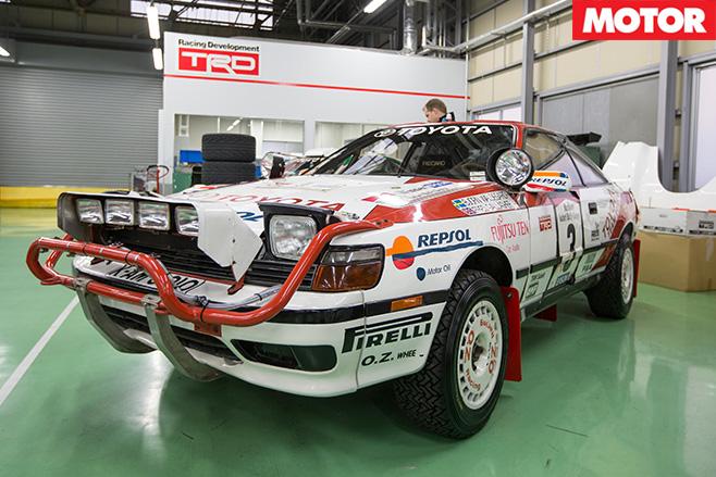 1988-Toyota WRC ST165 Celica