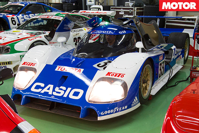 1992 Toyota -TS010