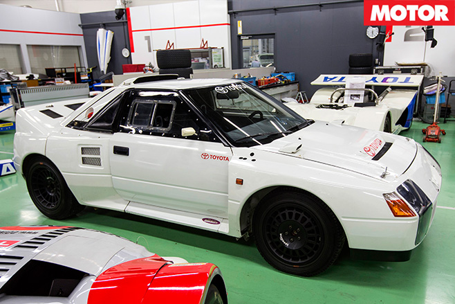 1986 Toyota Group S AW11 MR2
