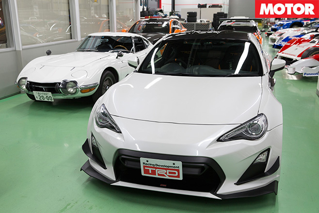 Inside TRD's Secret Warehouse 2