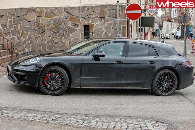 Porsche -Panamera -side