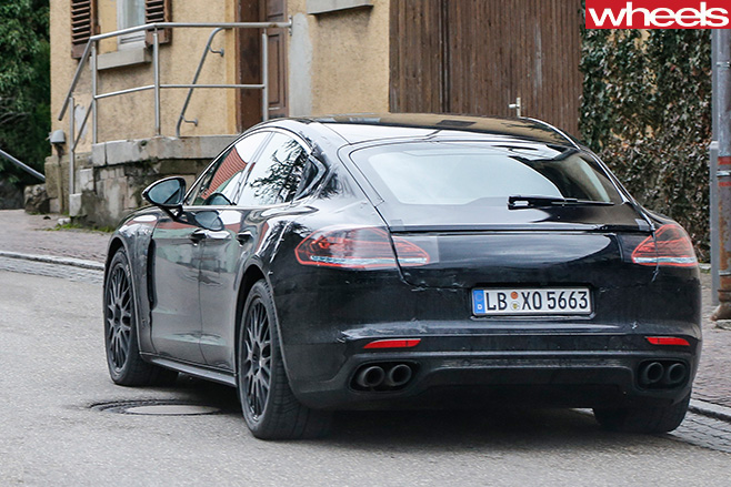 Porsche -Panamera -rear