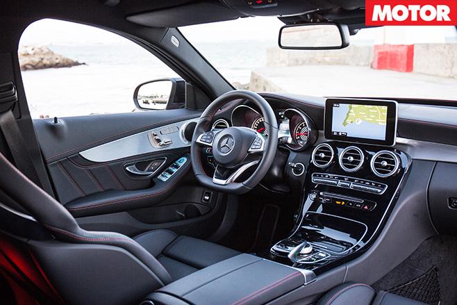Mercedes-AMG C450 interior