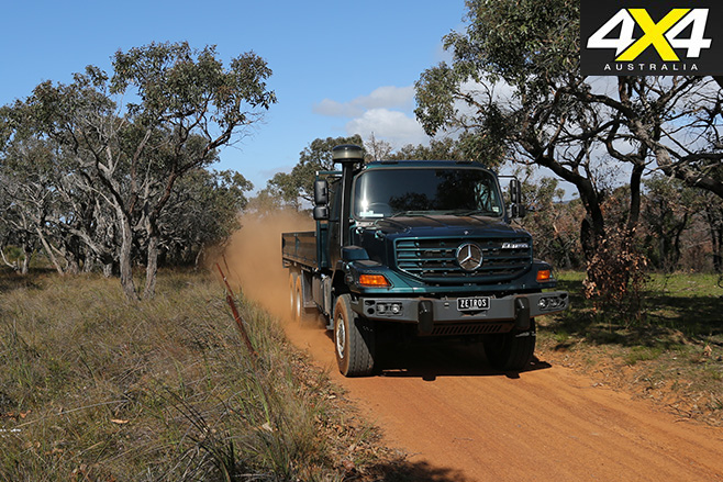 Zetros go anywhere truck