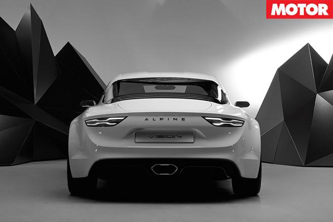 Alpine vision concept rear 2