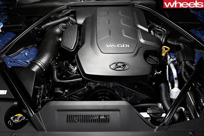 Hyundai -Genesis -V6-Engine