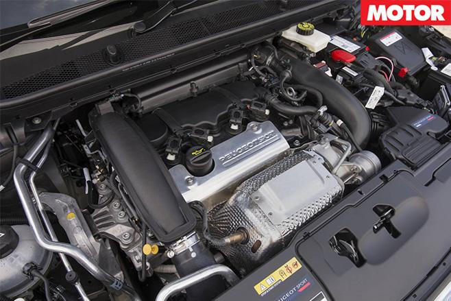 Peugeot 308 GTI engine