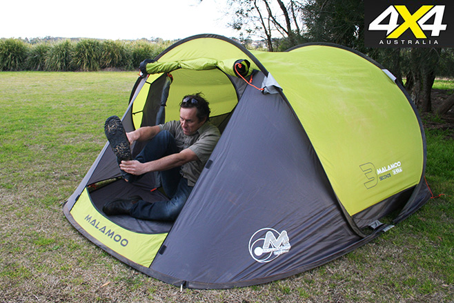 Malamoo 3 Second Oztent Product Test