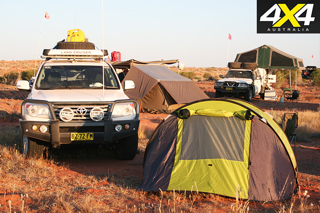 Malamoo tent in outback