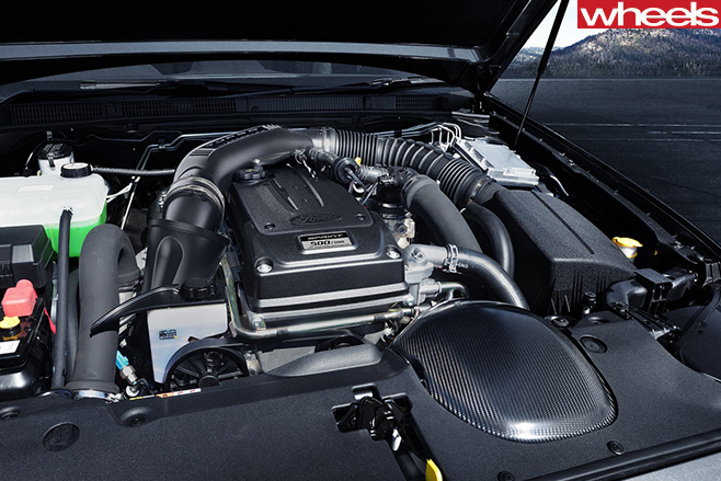Ford -Falcon -Sprint -engine