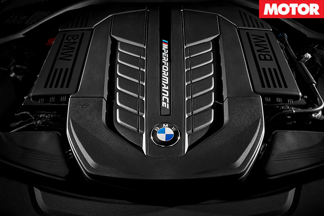 BMW M760Li xDrive engine