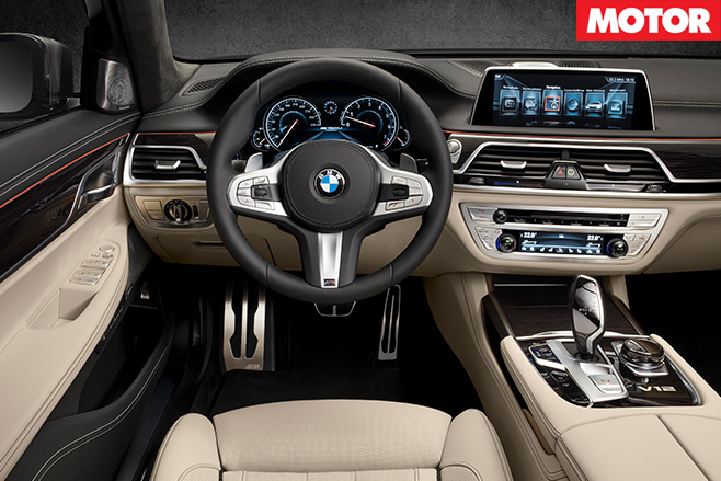BMW M760Li xDrive interior