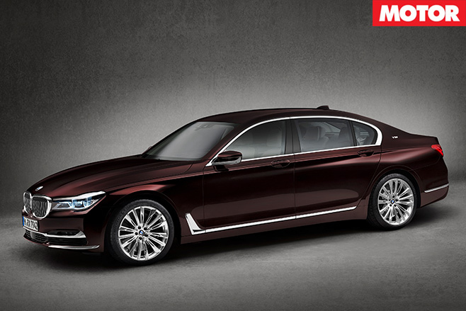 BMW M760Li xDrive side