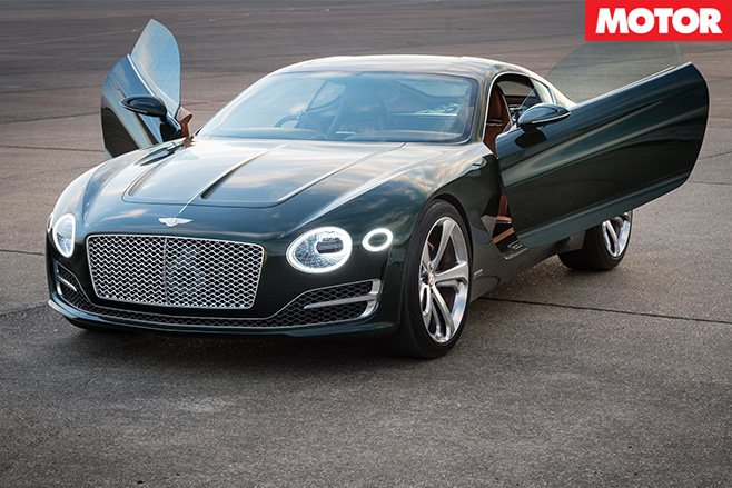 Bentley EXP10 doors