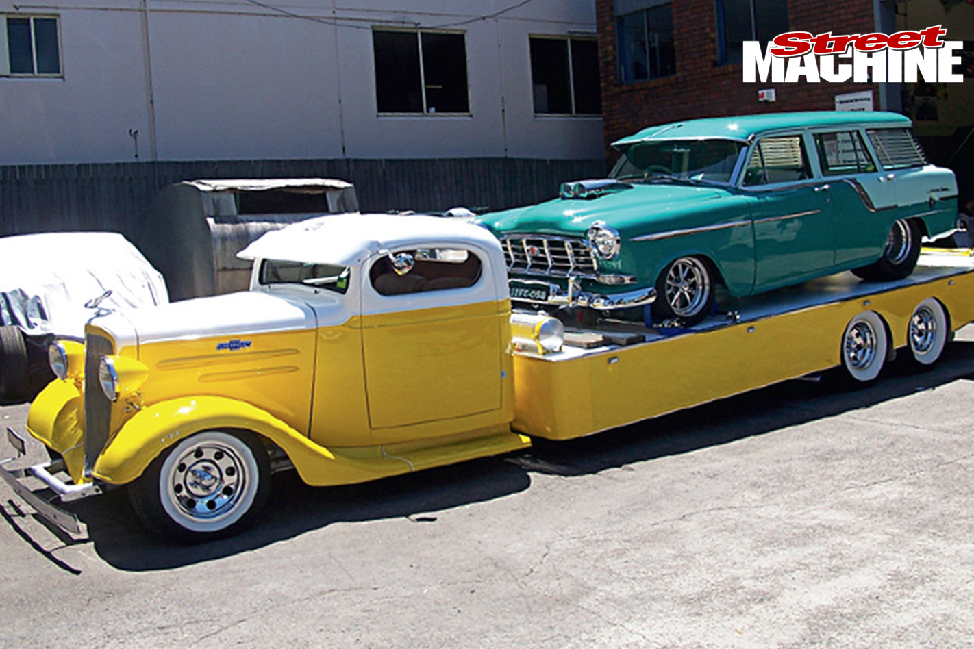 Chev -tow -truck -transporter