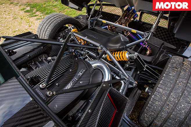 Pagani BC revealed engine