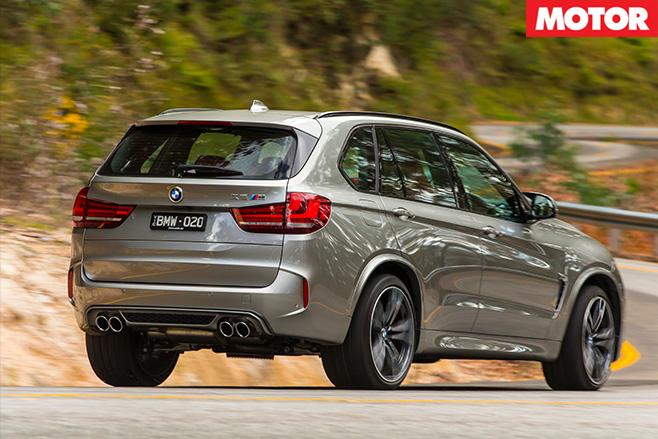 BMW X5M review rear