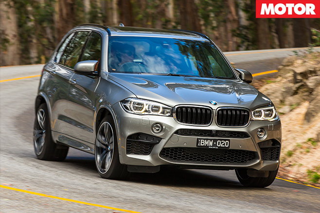 BMW X5M front