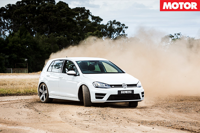 VW drifting