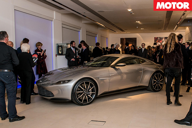 Aston Martin DB10 sold at auction