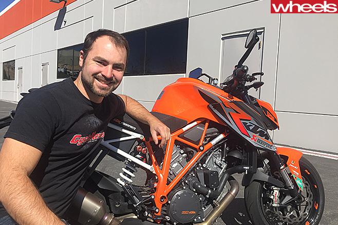 Rennie -Scaysbrook -motorbike