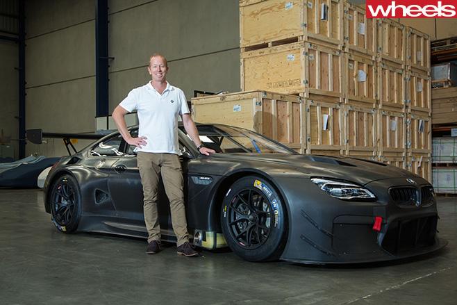 Steve -Richards -BMW-GT-car