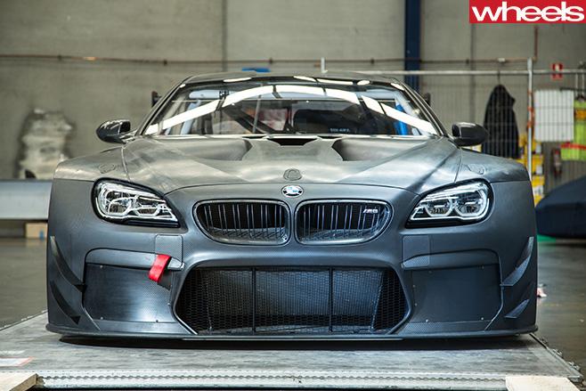 Steve -Richards -BMW-Team -SRM-M6-GT3-car -front