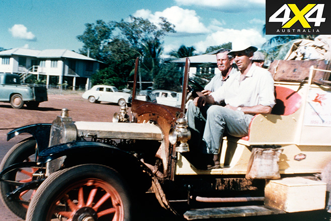 John and geoffrey dutton driving the overlander