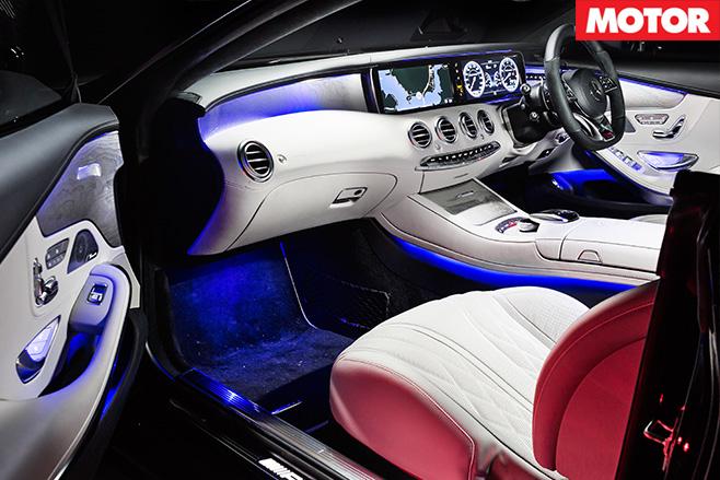 Mercedes AMG S63 interior