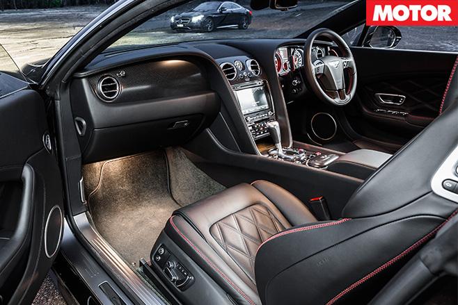 Bentley Continental V8 S interior