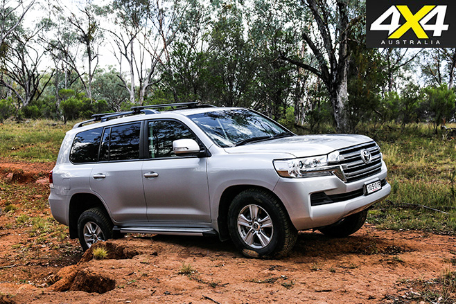 Toyota landrcuiser 200 series