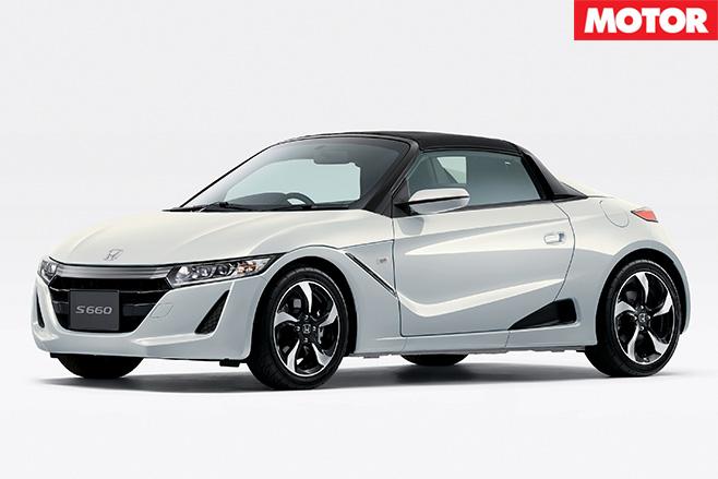 Honda S660 side