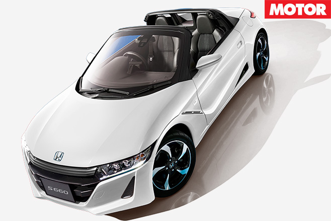 Honda S660 front