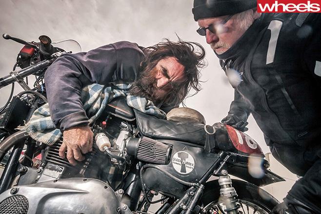 Motorbike -ride