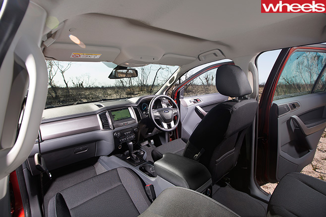 Ford -Everest -interior
