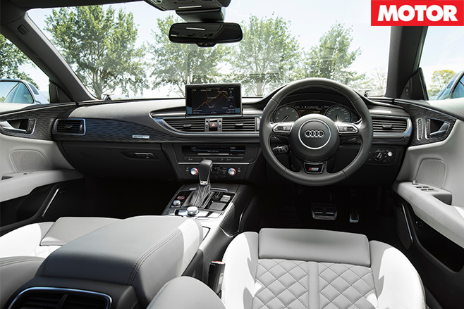 Audi s6/s7 review interior