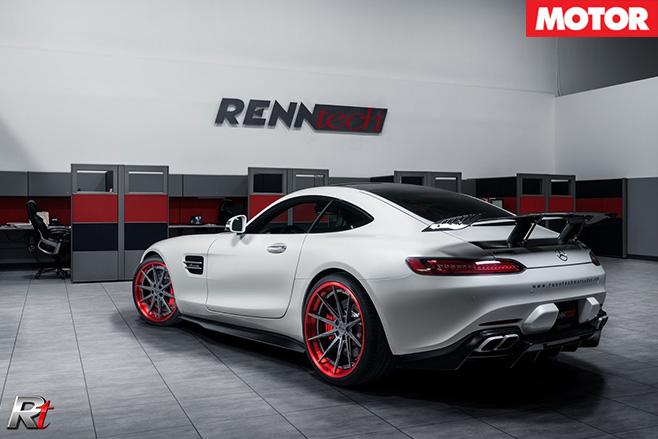 Renntech Mercedes-AMG GT S rear side