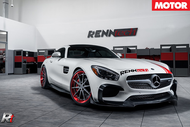 Renntech Mercedes-AMG GT S front