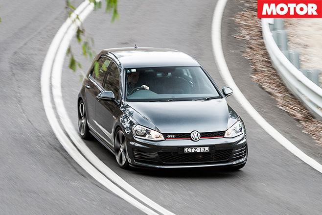 Volkswagen Golf driving