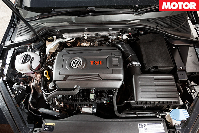 Volkswagen Golf engine
